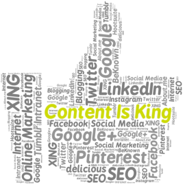 Content-Marketing is king